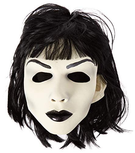 (Zagone Hot Goth Mask, White Skinned Female Doll, Black)