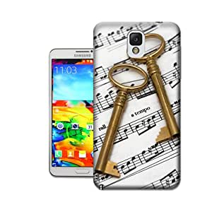Randi''s iPhoneCase Smart Style Music Series Stave and Key Phone Case/Shell for Samsung Note 3