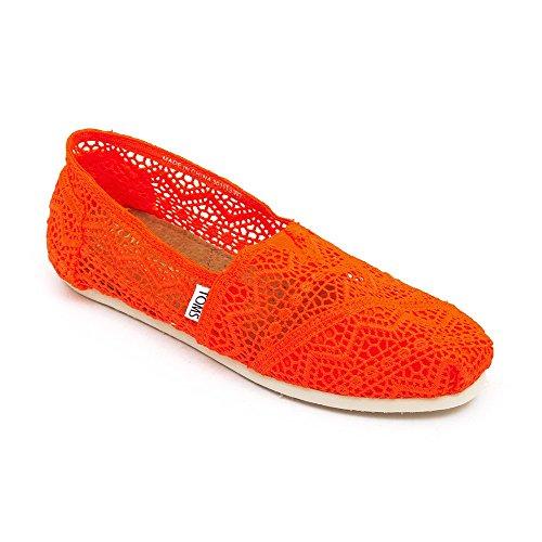 Black Coral TOMS Neon Morocco Classics Crochet Crochet Womens wqUPw7p