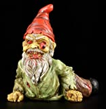 PTC 7 Inch Resin Scary Crawling Zombie Garden Gnome Décor Figurine