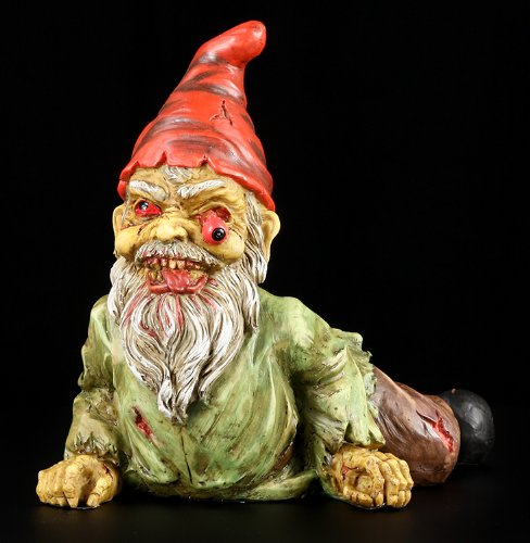 PTC 7 Inch Resin Scary Crawling Zombie Garden Gnome Décor Figurine ()