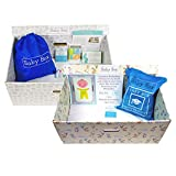 The Baby Box Co. - The Bed Box - Safe Bassinet for Newborns - Patterns May Vary