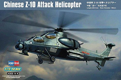Hobby Boss Z-10 Attack Helicopter Model Building Kit