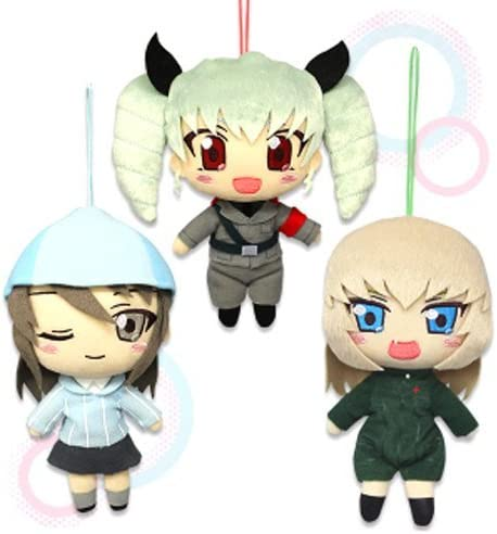 Girls und Panzer theater version jumbo Nesoberi stuffed Miho