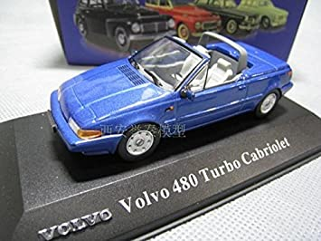 Amazon.com : ATLAS 1/43 VOLVO Volvo 480 TURBO CABRIOLET alloy models : Baby