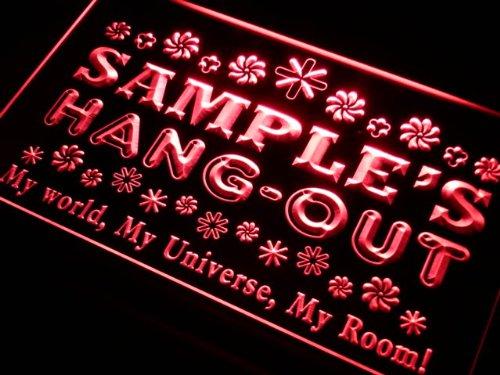 pq1564-r Christian's Hang Out Girl Kid's Room Light Princess Room Neon Sign