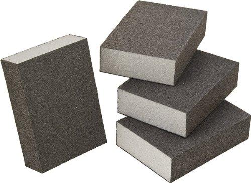 60 Grit Set of 4 Four-Sided Foam Sanding Sponge