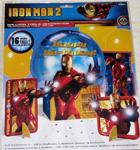 Iron Man '2' Mylar Balloon Table Decoration Kit -