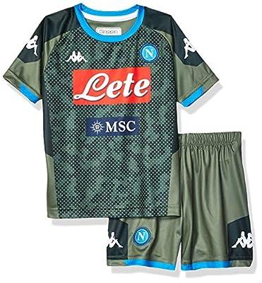 Ssc Napoli Italian Serie A Boys Junior Away Match Kit 2019/20