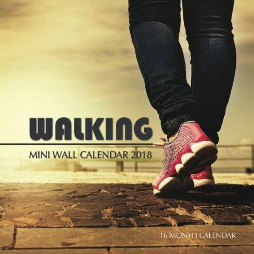 Walking Mini Wall Calendar 2018: 16 Month Calendar ebook