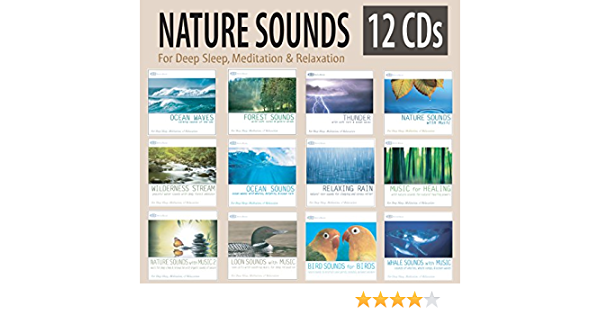 Nature Sounds Relaxation /& Meditation CD Collection