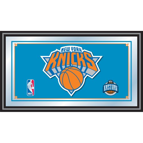 (NBA New York Knicks Framed Logo Mirror)
