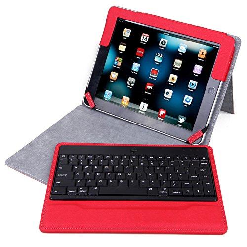 ipad 2 keyboard case red - 3