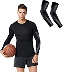 H&M Protection Cooling Arm Sleeves Elastic Wear-Resistant Protection Muscle Cooling Safety Sleeve 1 Pair
