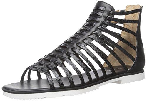 Calvin Klein Laberinto gladiador sandalia Black