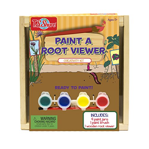 T.S. Shure Wooden Paint-a-Root Viewer Creativity Kit