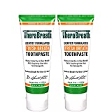 Beauty : TheraBreath Dentist Formulated  Fresh Breath Anti-Cavity Toothpaste, Mild Mint, 4 Ounce (Pack of 2)