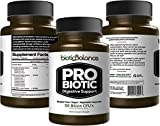 Biotic Balance Probiotic -Digestion Support - 30 Day Supply - 1 Capsule Daily - 50 Billion CFU - 10 Strains by Organifi