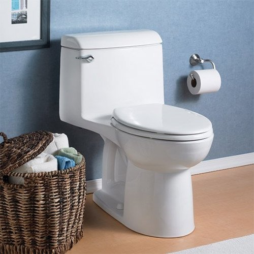 American Standard 2004.012 Champion 1.60 GPF Once-Piece Elongated Toilet, Linen