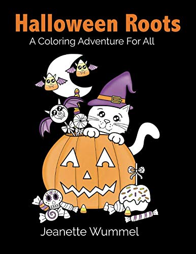 Halloween Coloring Sheets With Addition (Halloween Roots)