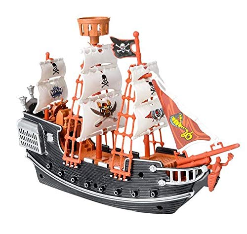Rhode Island Novelty - Pirate Boat Playset Caribbean Deluxe Party Kit
