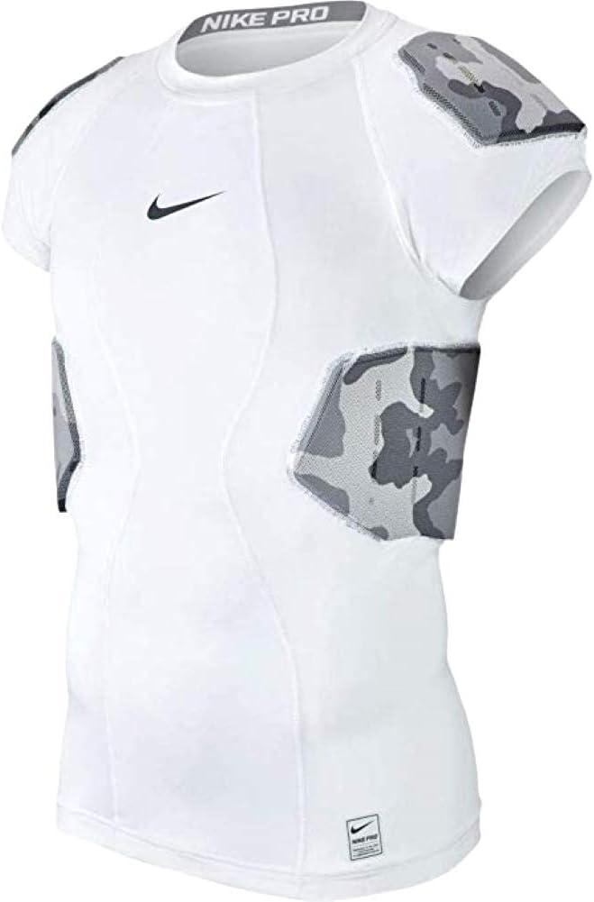 ナイキメンズPro Combat Hyperstrong 4-pad Camoフットボールシャツ