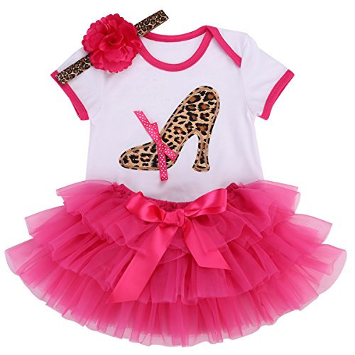 Smilsheep newborn girl clothes baby girl clothes first birthday outfit girl baby girl swimsuit 1st birthday girl outfit 0-3 months baby girls dress for newborn girls clothes 3 Pcs (New Designer Baby Clothing)