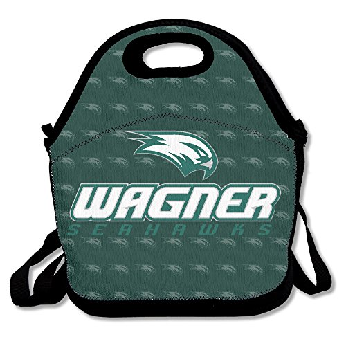 NCAA Wagner College Seahawks Logo Lunch Tote Bag