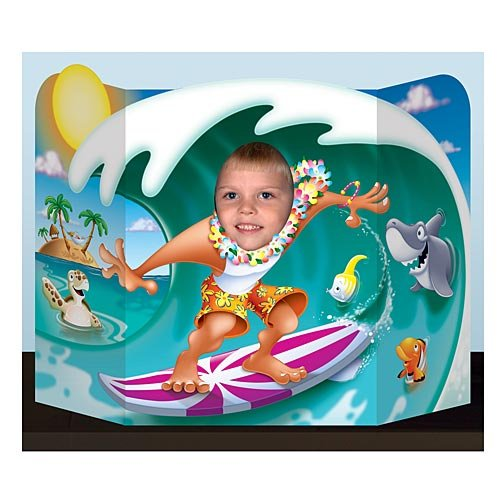 Beistle 57998 Surfer Dude Photo Prop, 3-Feet 1-Inch by 25-Inch