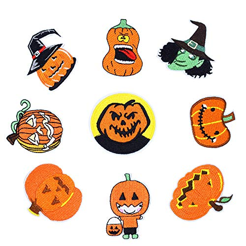 QTL Halloween Embroidery Patch Costume Badge for DIY -