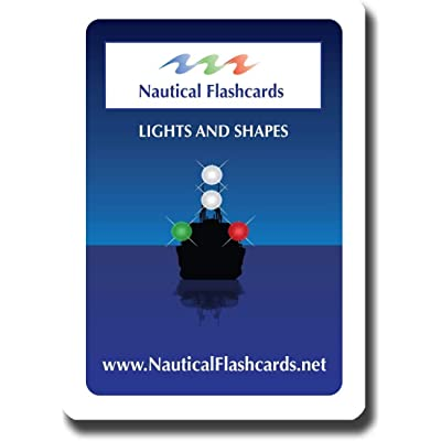 Nautical Flashcards Educational Night Lights and Day Shapes Flash Cards for Boating/Sailing: Sports & Outdoors