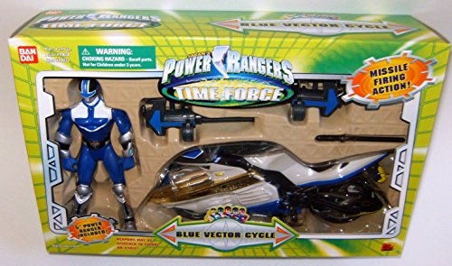 Power Rangers Time Force Blue Vector Cycle