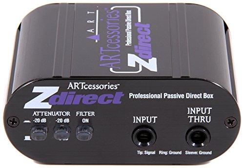 ART Z Direct Professional Passive Direct Box - (New) (Art Dual Z Direct Dual Passive Di Box)