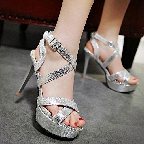 Sandali Donna Stiletto Mode Silver Zanpa Piattaforma 1 7zqTPHwgxw