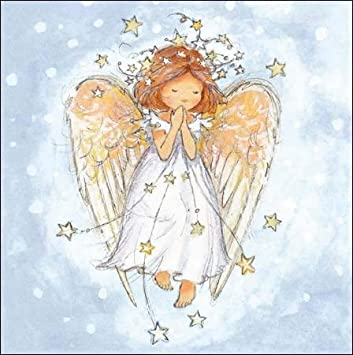 Angels Christmas Cards.Charity Christmas Cards Wdm7376 Christmas Angel Pack Of 5 Cards Sold In Aid Of Childline