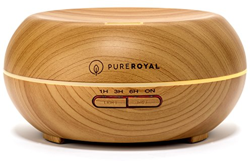 PureRoyal Ultrasonic Aromatherapy Essential Humidifier