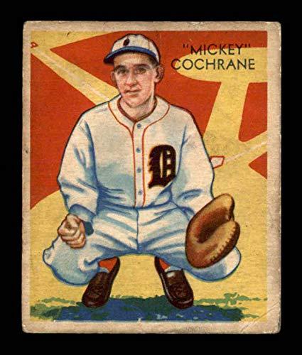 (1934 Diamond Stars #9 Mickey Cochrane VG X1695634)