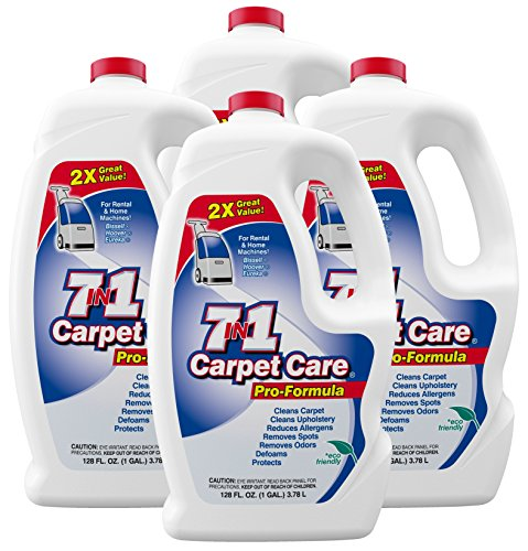 7in1 Pro Formula Carpet Care Solution 4/1 Gallons - Carpet Extraction Machines
