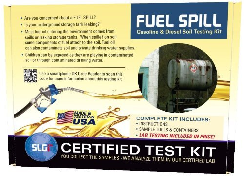 Fuel Spill (DRO/GRO) Test Kit 1PK (5 Bus  Days) Schneider