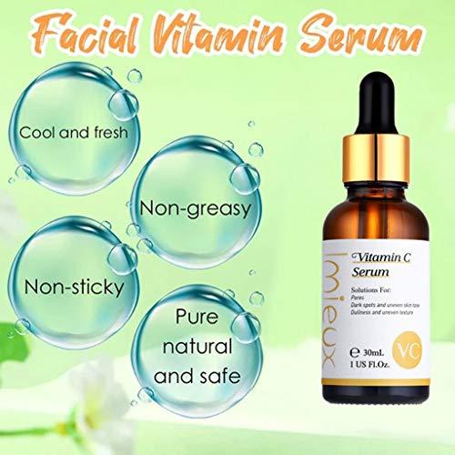 51GKrshSE7L - kitt Facial Vitamin Serum 30ml, Dark Spots Corrective Moisturizing Firming Repair Scar Facial Serum - Anti-Aging, Whiten, Brighten Skin (Multicolor)
