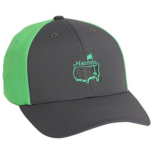 Eurekaゴルフ製品Mastersグレー/グリーンパフォーマンス帽子