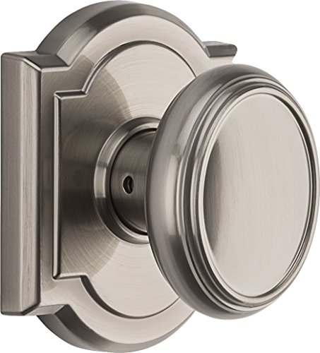 (Baldwin Prestige Carnaby Hall/Closet Knob in Satin Nickel )