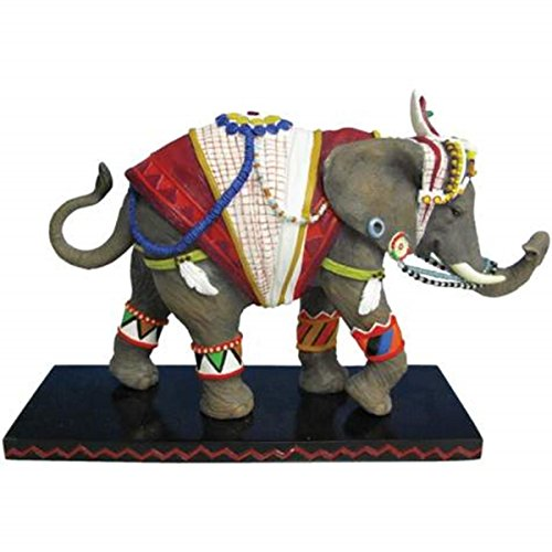 "WL SS-WL-13057 4.5"" Vast Traveler Embellished Elephant Collectible Figurine"