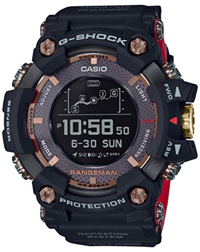 Casio G-Shock GPR-B1000TF-1JR RANGEMAN Magma Ocean 35th Anniversary Limited GPS Radio Solar Watch (Japan Domestic Genuine Products)