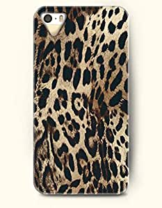 Phone Case For iphone 5c Beautiful Leopard Pattern - Hard Back Plastic Case / Animal Print / OOFIT Authentic