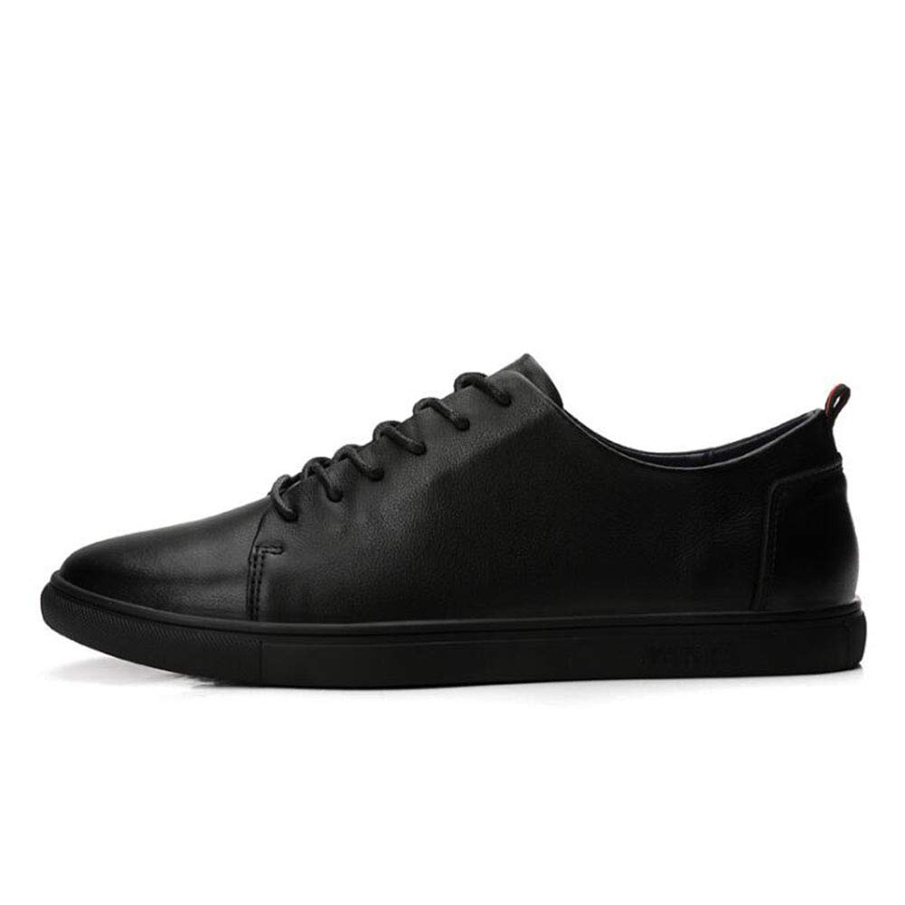 Spring Flat Loafers,Deck Shoe,Small White Shoes,Casual Sneakers Walking Gym Shoes Cycling Shoes,Black,41 2019 New Mens Shoes