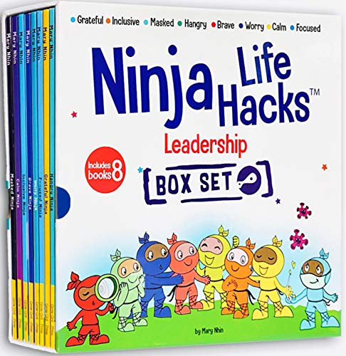 Ninja Life Hacks Leadership 8 Book Box Set