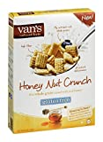 Van's Natural Foods Five Whole Grain Cereal Honey Nut Crunch 11 OZ (Pack of 18)