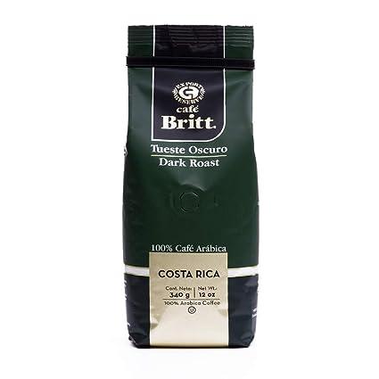 Cafe Britt Costa Rica café molido tueste oscuro ...