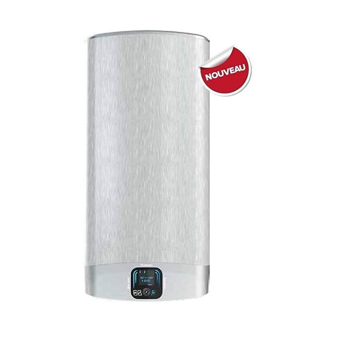 Ariston-Calentador de agua eléctrico plano VELIS EVO más de 80 litros: Amazon.es: Hogar